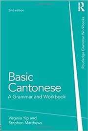 Basic Cantoneses: A Grammer and Workbook