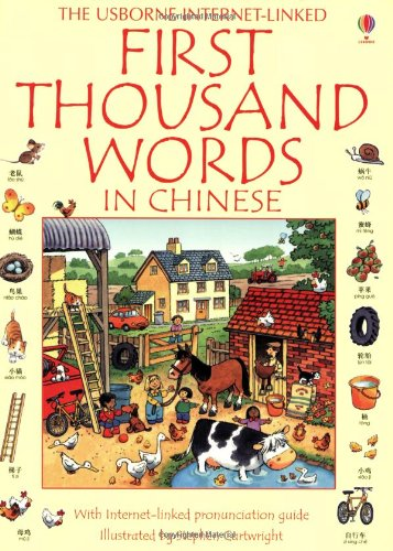 First Thousand Words in Chinese - Usborne First Thousand Words Series